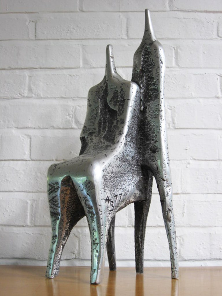 Aluminum Sculpture by Aharon Bezalel For Sale 2