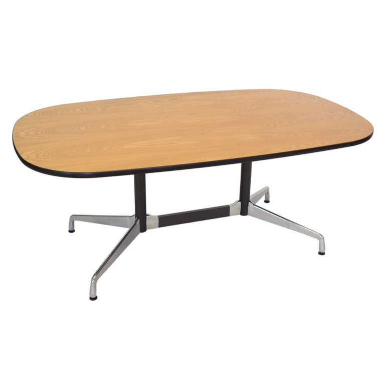 Eames Segmented Base Table By Herman Miller at 1stdibs