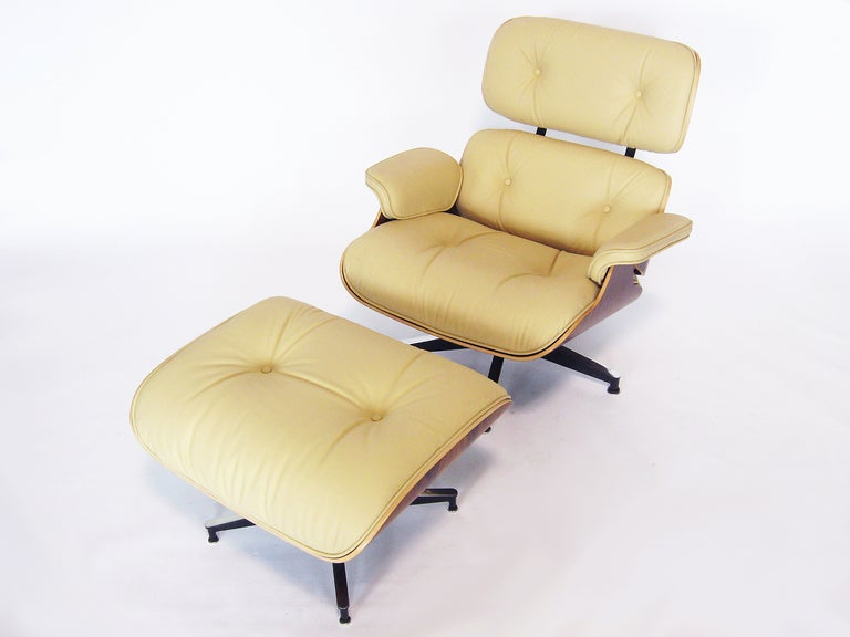 eames 670 671 lounge chair and ottoman at 1stdibs
