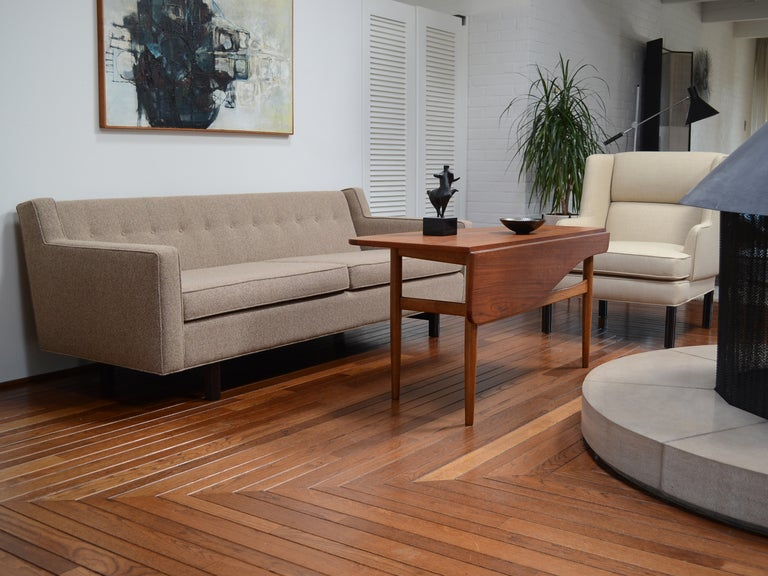 Edward Wormley Loose Cushion Sofa by Dunbar For Sale 3