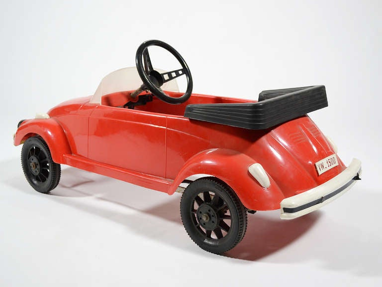 VW Dealer Chicago >> Rare VW Beetle Pedal Car by Pines For Sale at 1stdibs