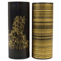 Oversize Porcelain Vases by Rosenthal