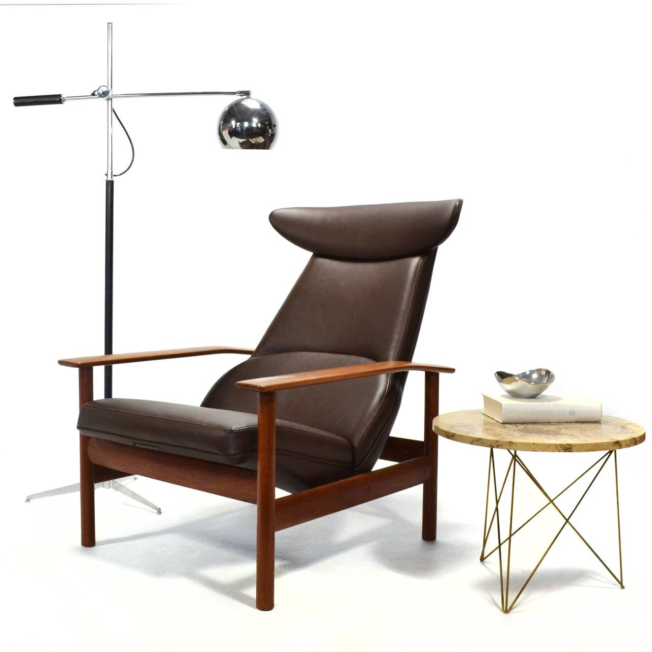 Sven Ivar Dysthe Reclining Lounge Chair For Sale 3