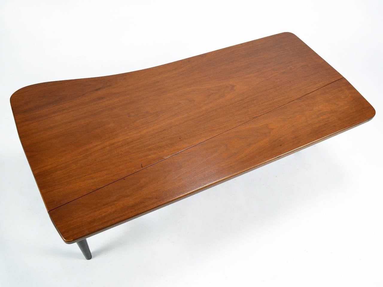 Walnut Finn Juhl Drop-Leaf Coffee Table For Sale