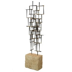 Abstract Sculpture By DeGroot
