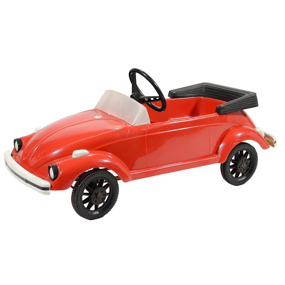 Rare VW Beetle Pedal Car by Pines