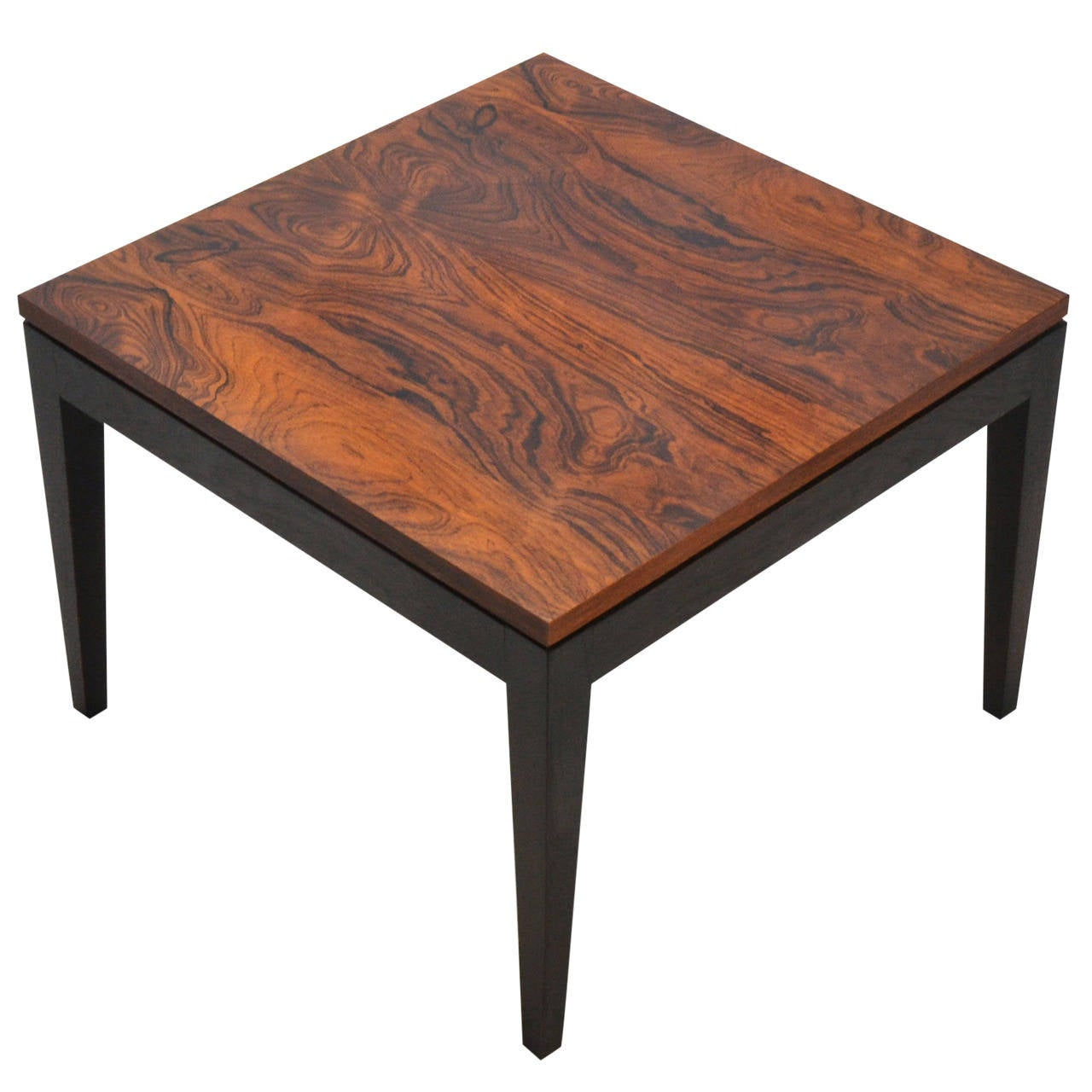 Rosewood Side Table By Knoll For Sale At 1stdibs