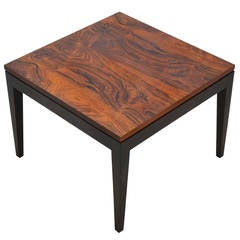 Rosewood Side Table by Knoll