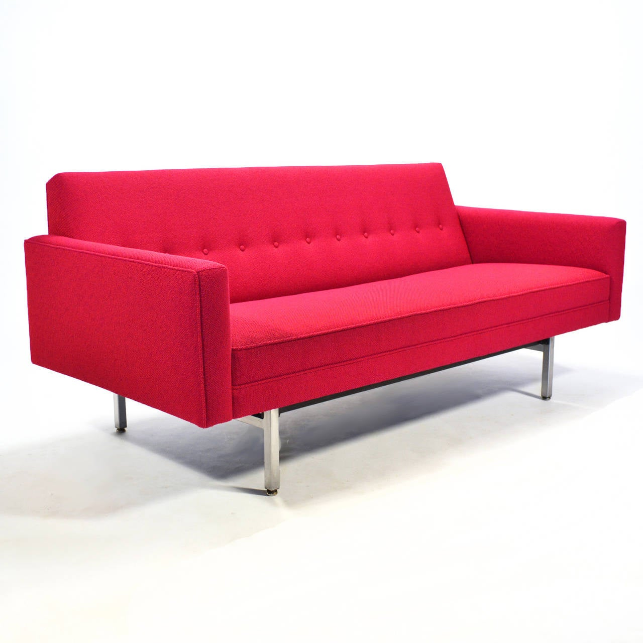The modular seating group designed by the Nelson office in 1955 is one of our favorite sofa designs. It was designed on a 30