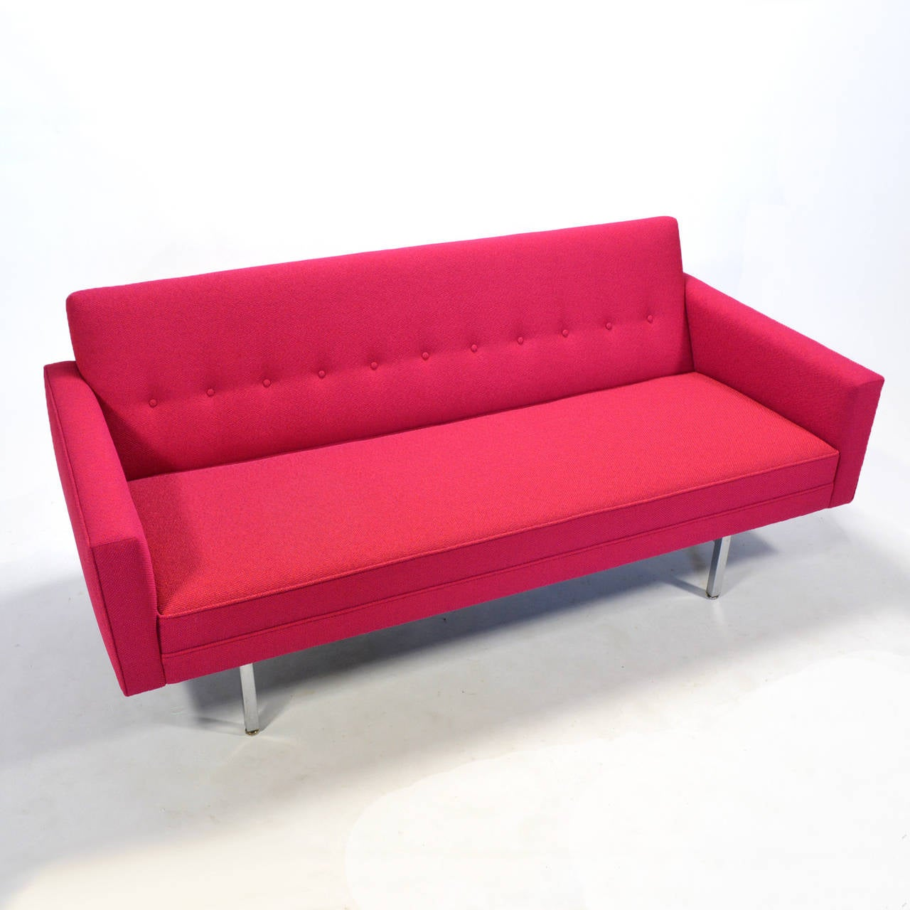 Steel George Nelson Modular Group Sofa For Sale