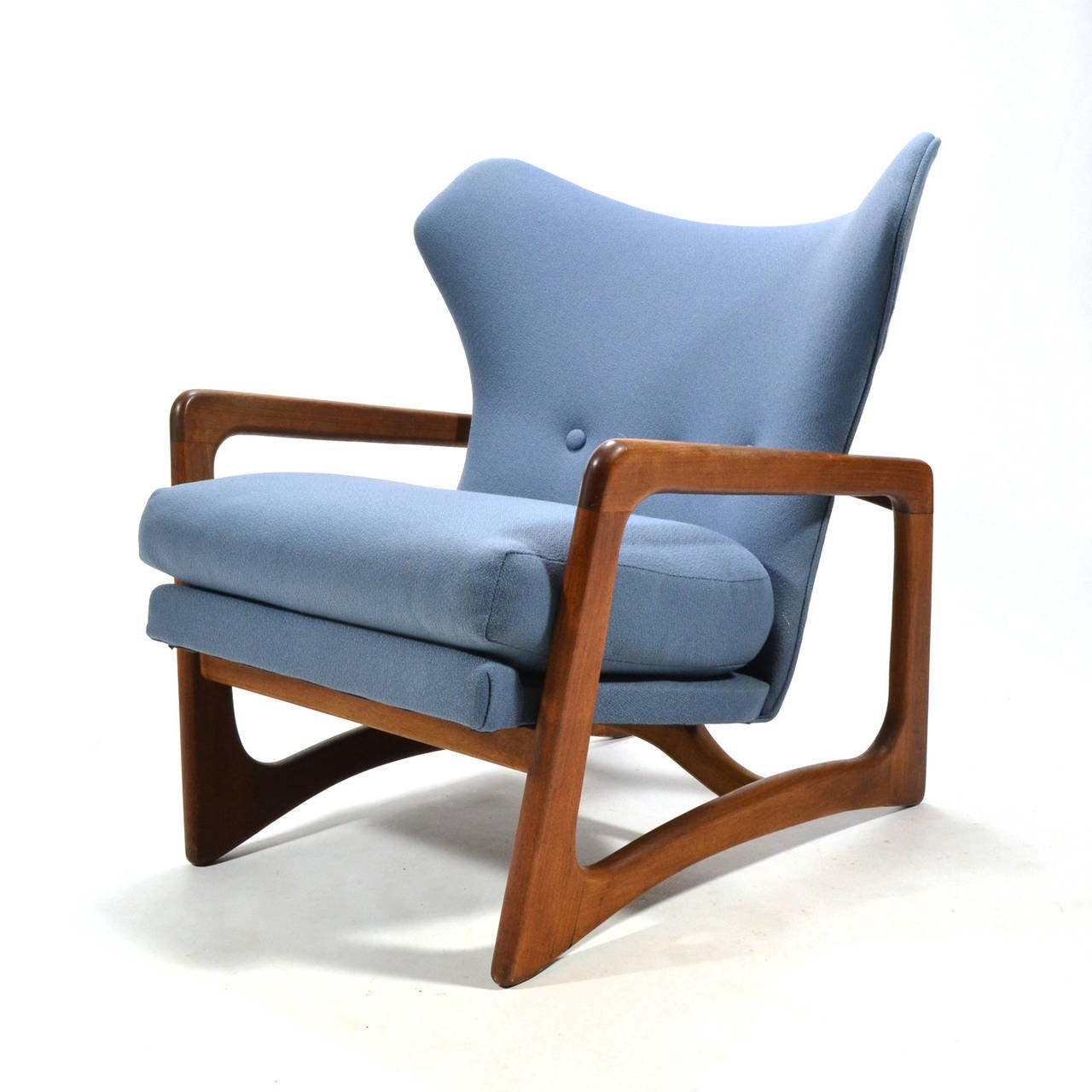 Adrian Pearsall Wingback Lounge Chair by Craft Associates 2