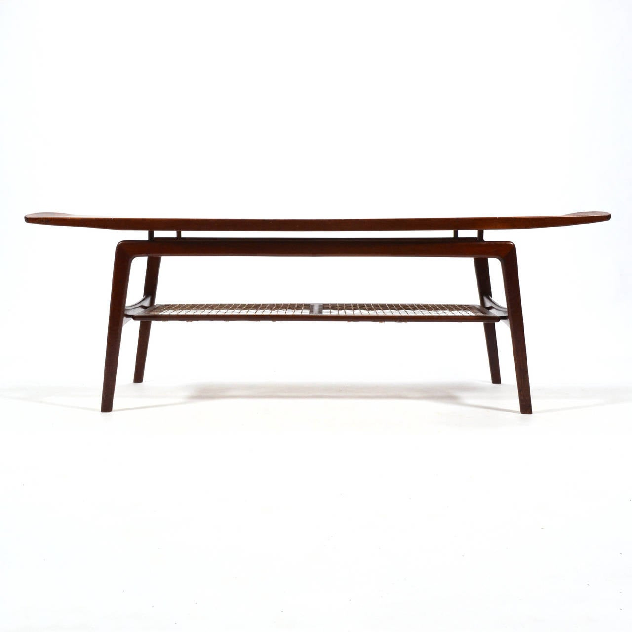 Scandinavian Modern Arne Hovmand-Olsen Coffee Table For Sale