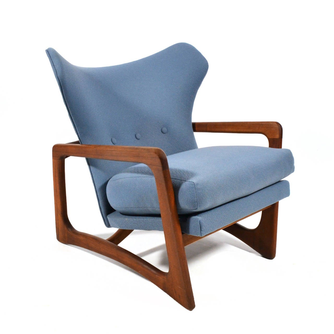 Adrian Pearsall Wingback Lounge Chair by Craft Associates 3