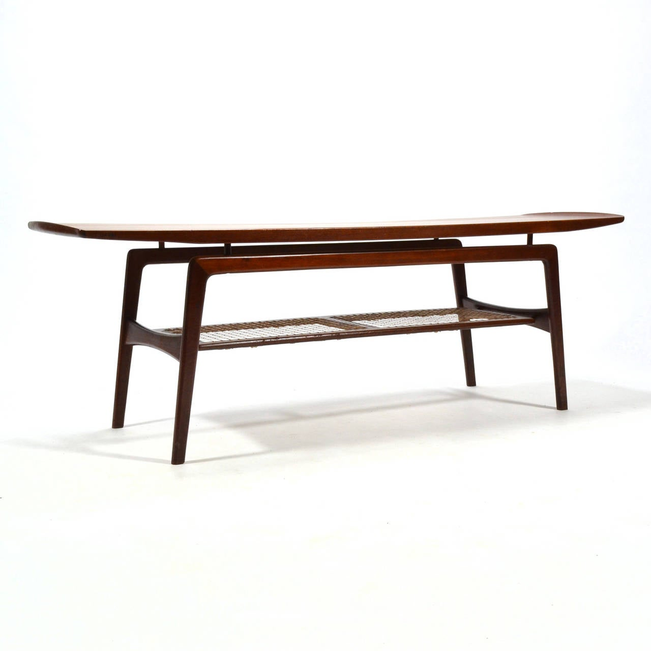 Arne Hovmand-Olsen Coffee Table In Good Condition For Sale In Highland, IN