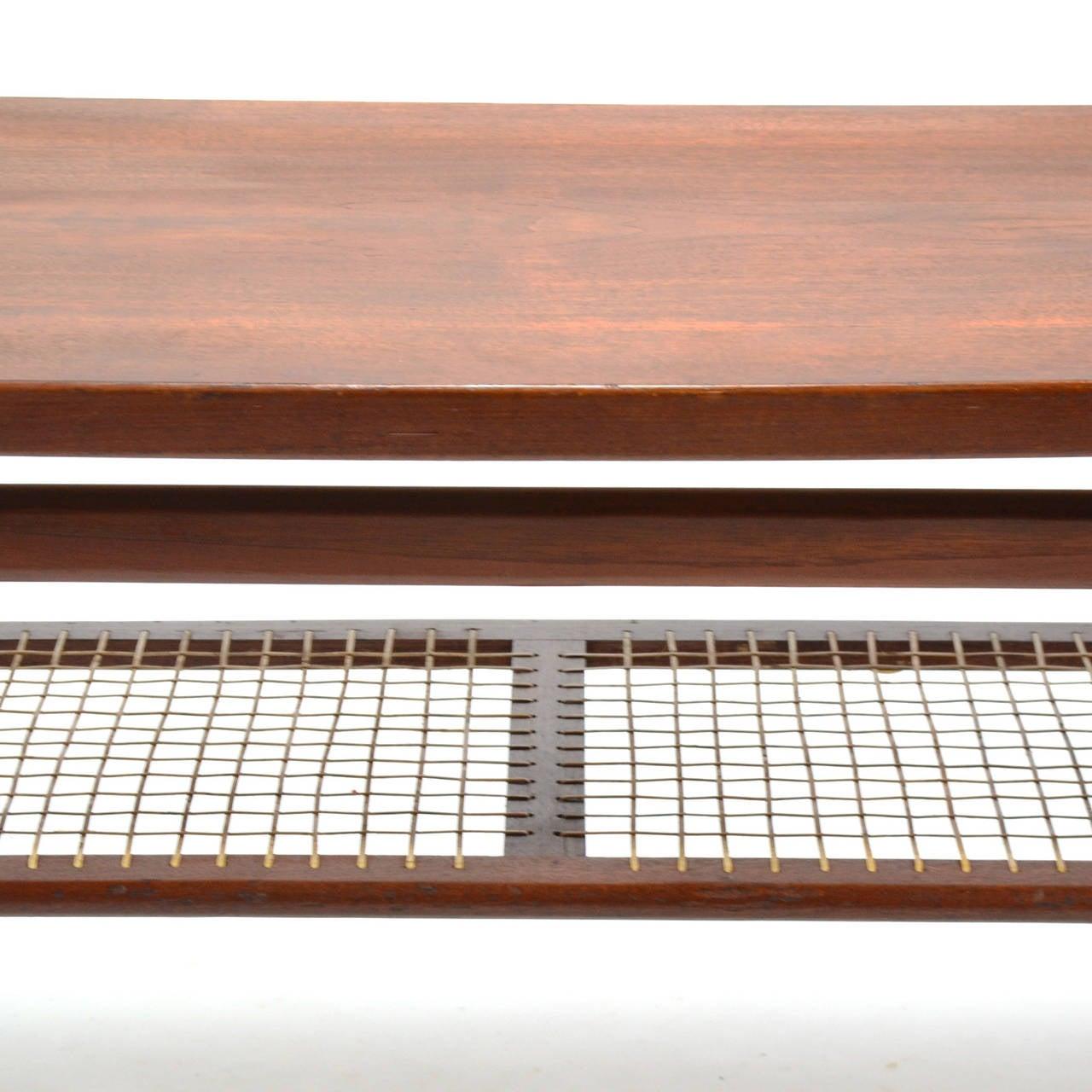 Teak Arne Hovmand-Olsen Coffee Table For Sale