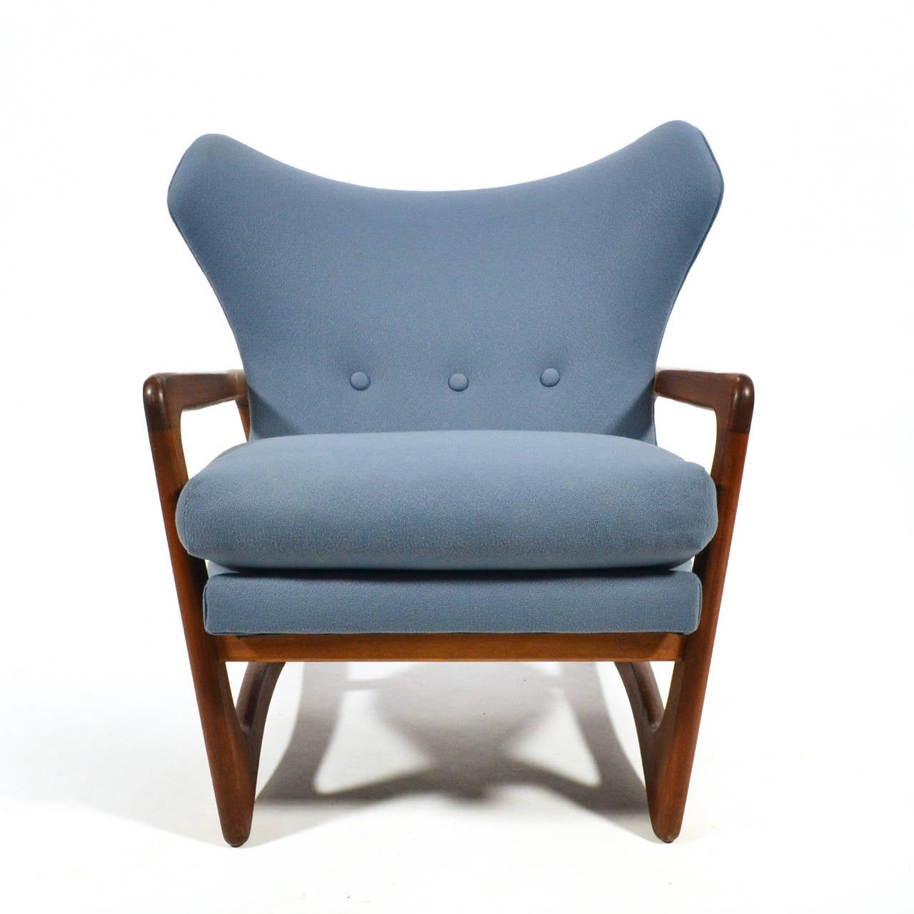 Adrian Pearsall Wingback Lounge Chair by Craft Associates 7