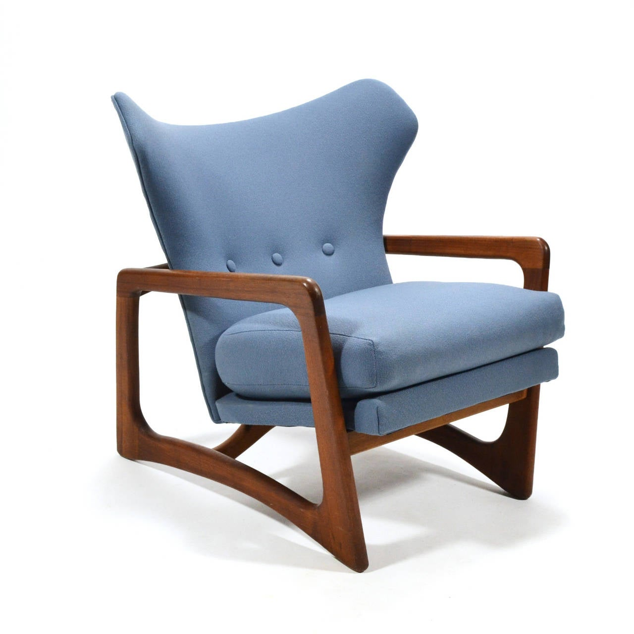 Adrian Pearsall Wingback Lounge Chair by Craft Associates 9