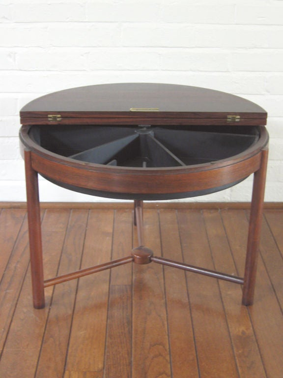 Rosewood Table by Rolf Rastad & Adolf Relling For Sale 1