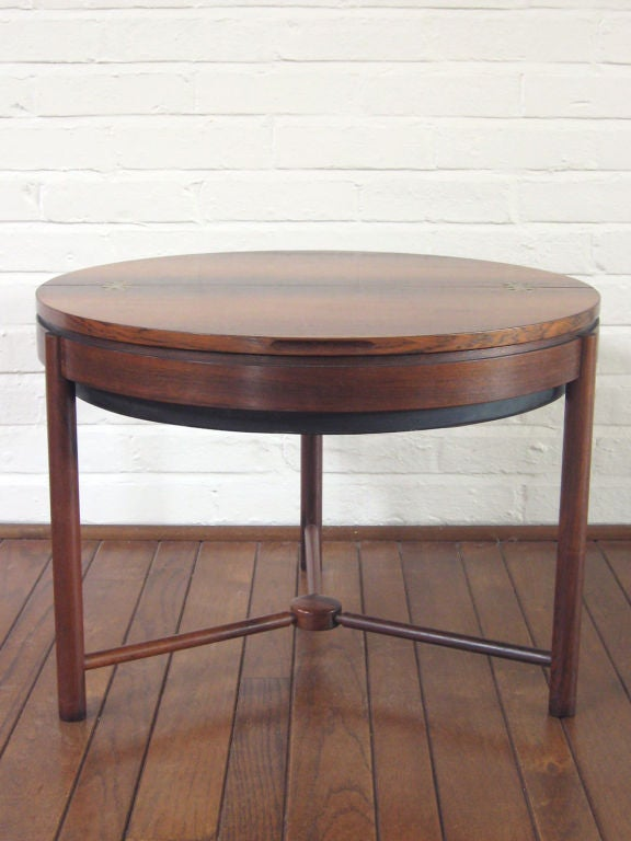 Rosewood Table by Rolf Rastad & Adolf Relling For Sale 2