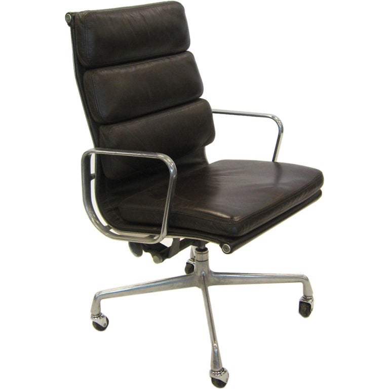 Eames soft pad executive chair by herman miller at 1stdibs - Herman miller chair eames ...