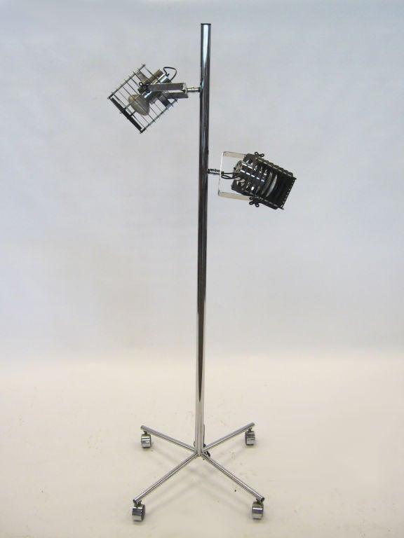 jere industrial style floor lamp at 1stdibs. Black Bedroom Furniture Sets. Home Design Ideas