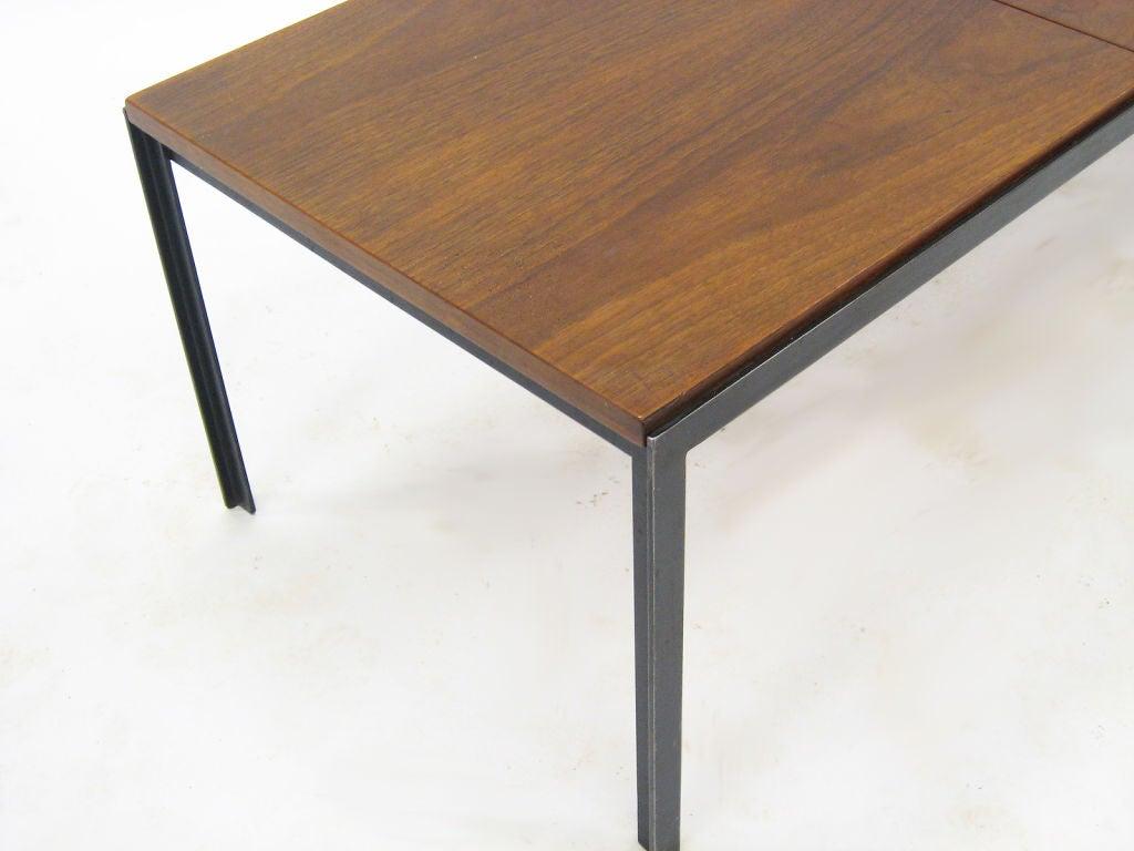 Florence Knoll T Angle Iron Coffee Table At 1stdibs