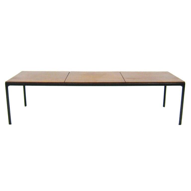 florence knoll tangle iron coffee table 1