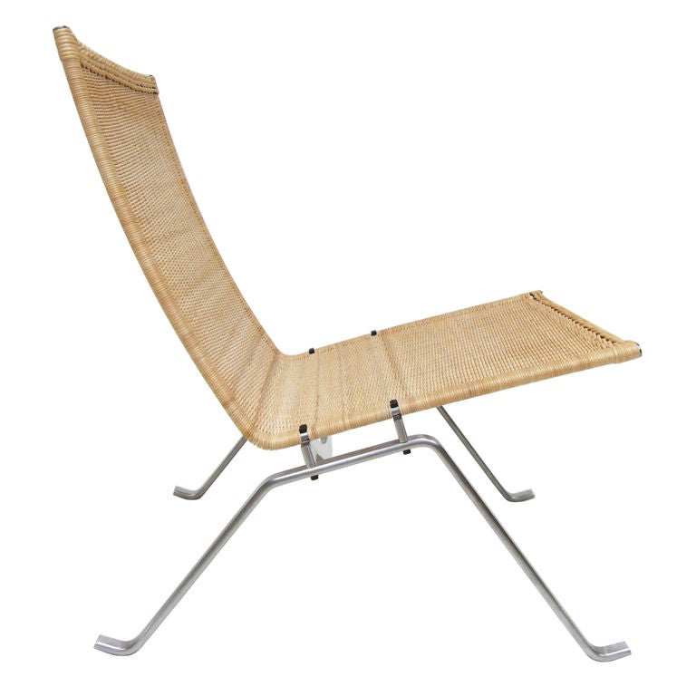 PK22 In Wicker By Poul Kjaerholm At 1stdibs