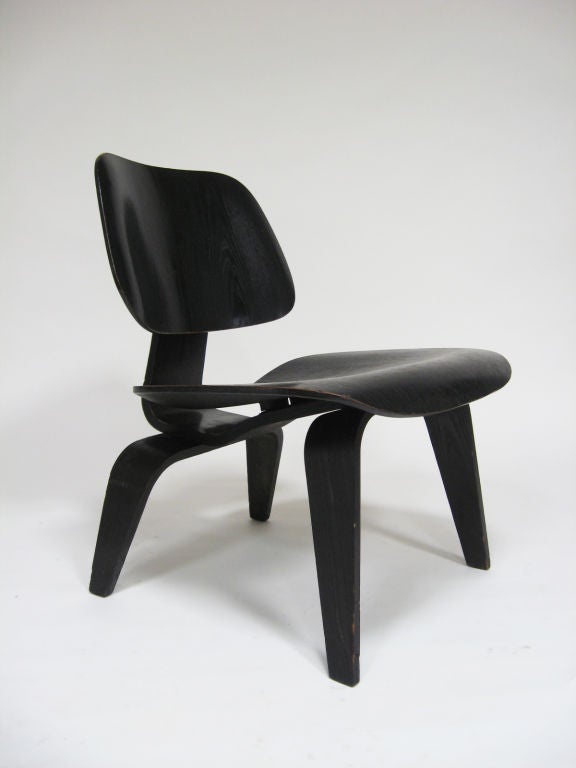 1952 Eames LCW Lounge Chair by Herman Miller 2