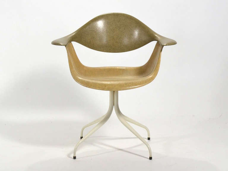 George Nelson Daf Swag Leg Chair By Herman Miller At 1stdibs