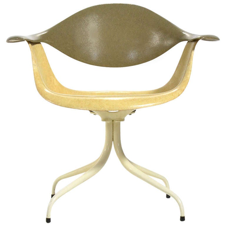 George Nelson MAF Swag Leg Lounge Chair By Herman Miller 1