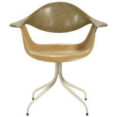 George Nelson DAF Swag Leg Chair by Herman Miller