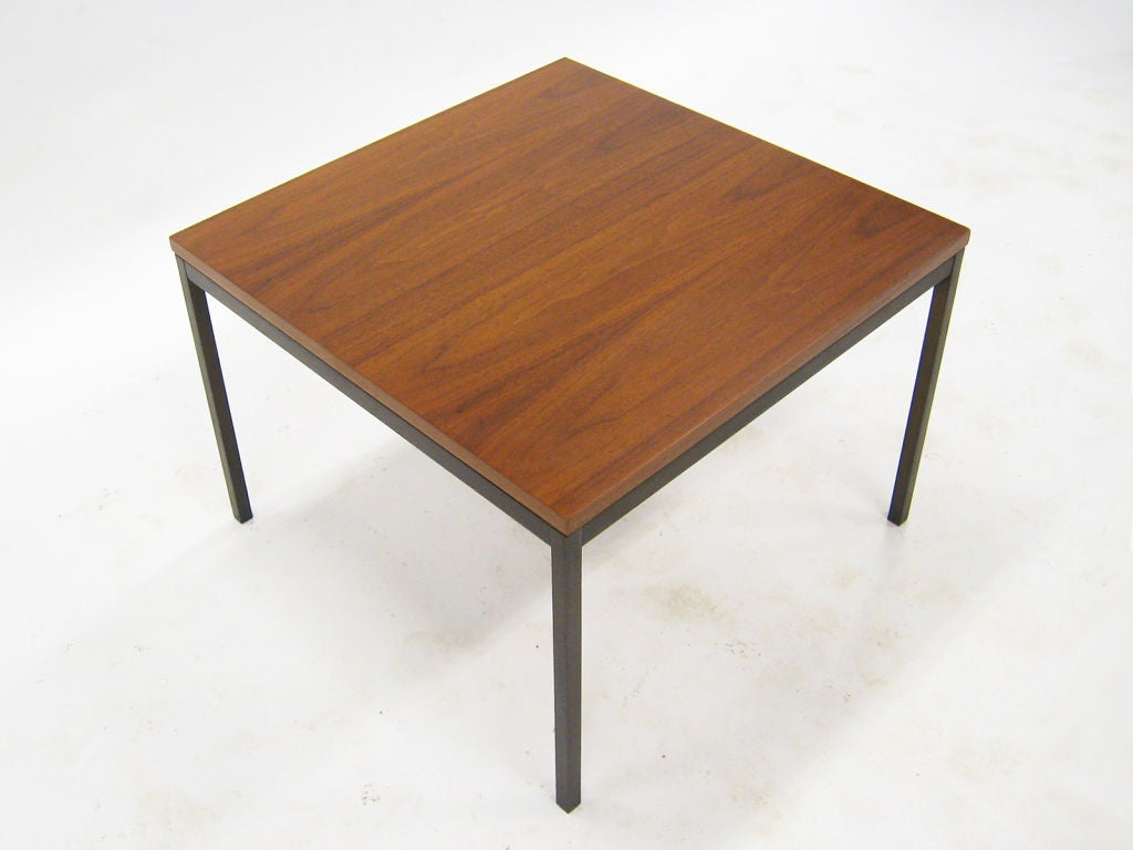 Florence knoll coffee end table with rare bronze base at 1stdibs Florence knoll coffee table