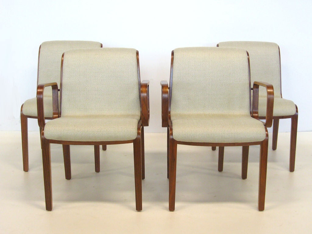 Set Of Bill Stephens Chairs By Knoll 2