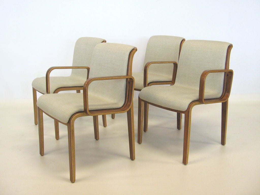 Set Of Bill Stephens Chairs By Knoll 3