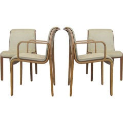 Set of Bill Stephens chairs by Knoll