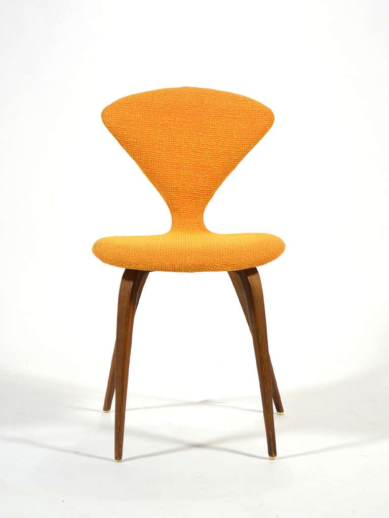 upholstered cherner side chair by plycraft 3