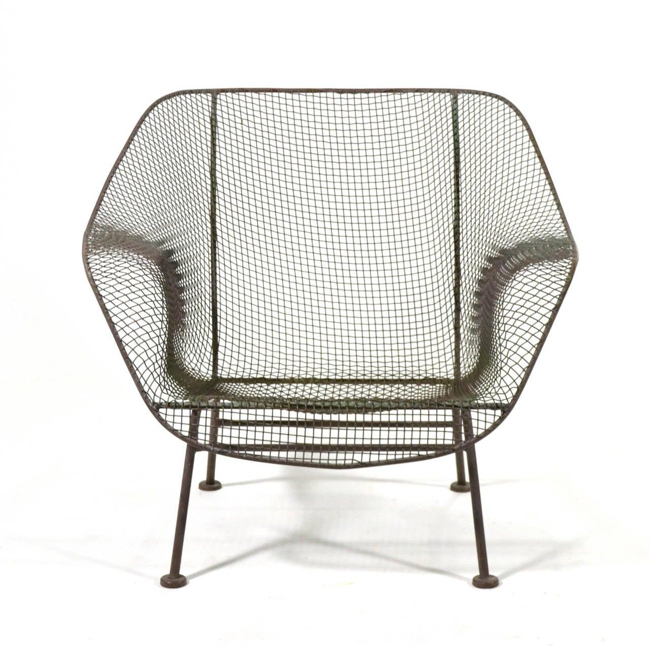 Woodard Sculptura Lounge Chair at 1stdibs
