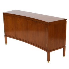Edward Wormley Curve-front Credenza by Dunbar