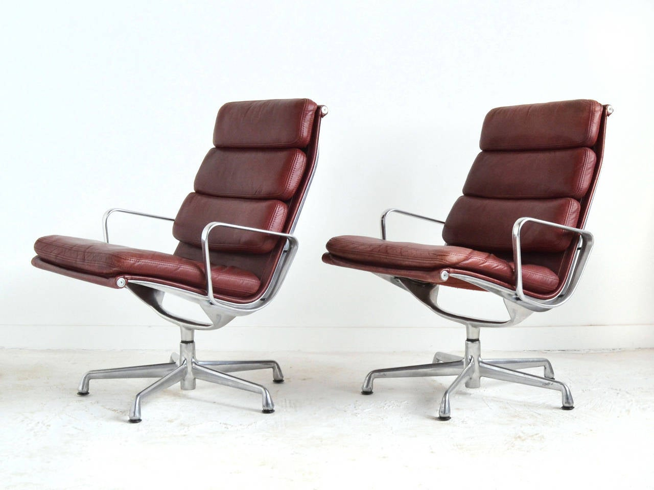 Eames Soft Pad Lounge Chair eames soft pad lounge chairsherman miller for sale at 1stdibs
