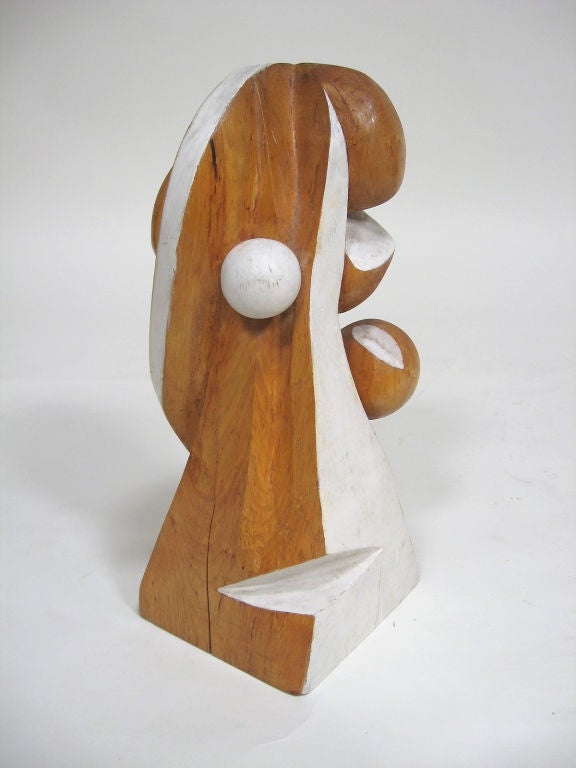 Abstract Wood Sculpture by Arthur Rossfield For Sale 2