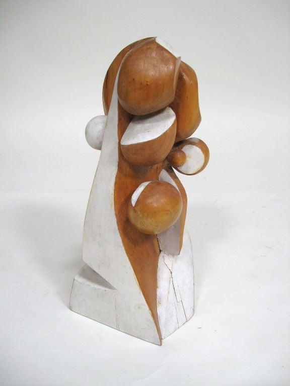 Abstract Wood Sculpture by Arthur Rossfield For Sale 3