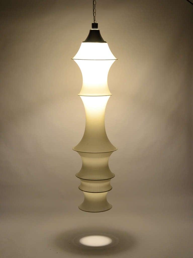 Bruno Munari Falkland Hanging Lamp By Danese Milano At 1stdibs
