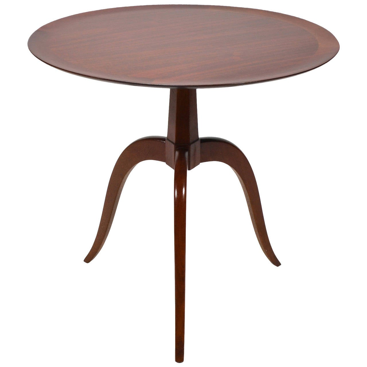 Edward wormley occasional table by dunbar at 1stdibs for Occasional table manufacturers