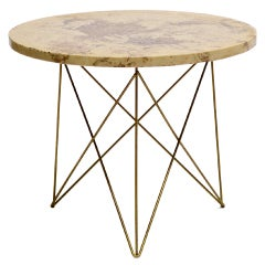 Table With Wire Rod Base By Rene Brancusi
