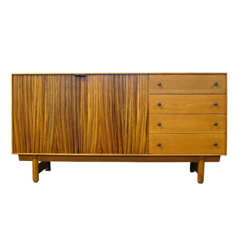 Credenza in calico ash by lawrence peabody for richardson - Richardson brothers bedroom furniture ...