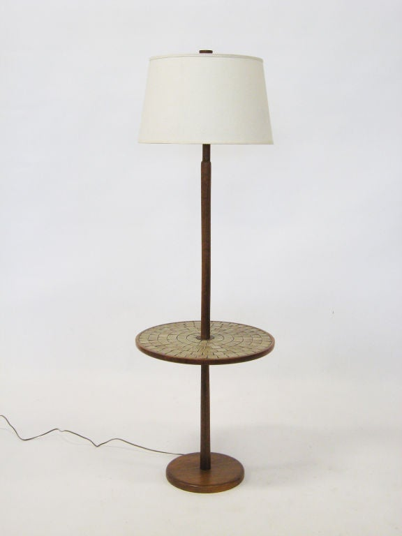 Floor Lamp Table By Gordon And Jane Martz For Marshall Studio For - Floor lamps with tables