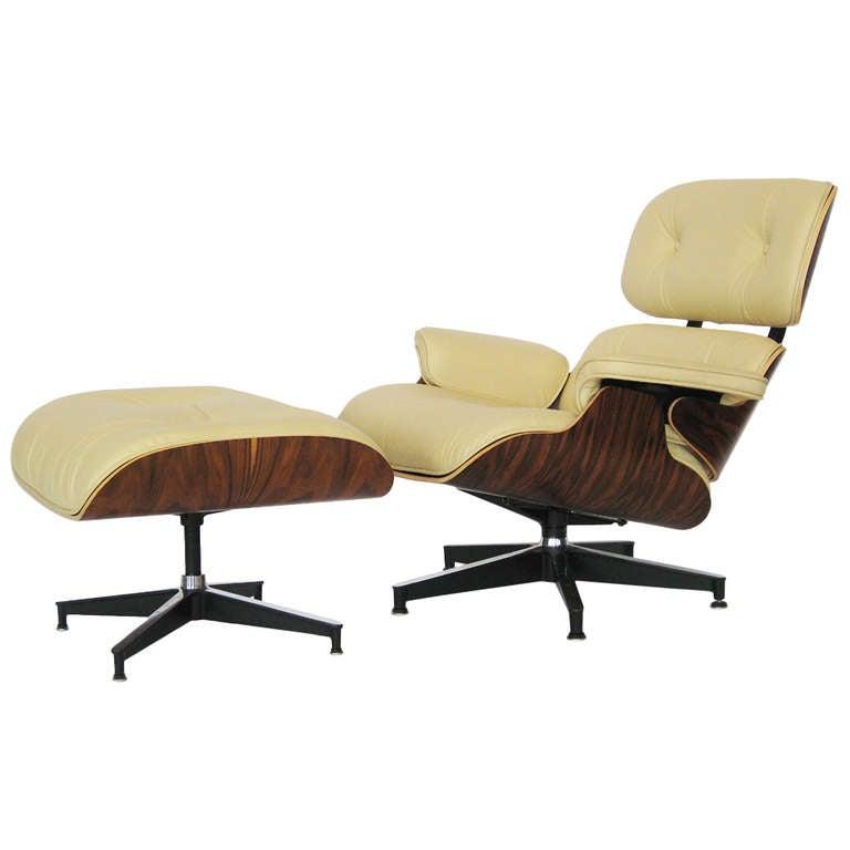 Eames 670 671 Lounge Chair And Ottoman At 1stdibs