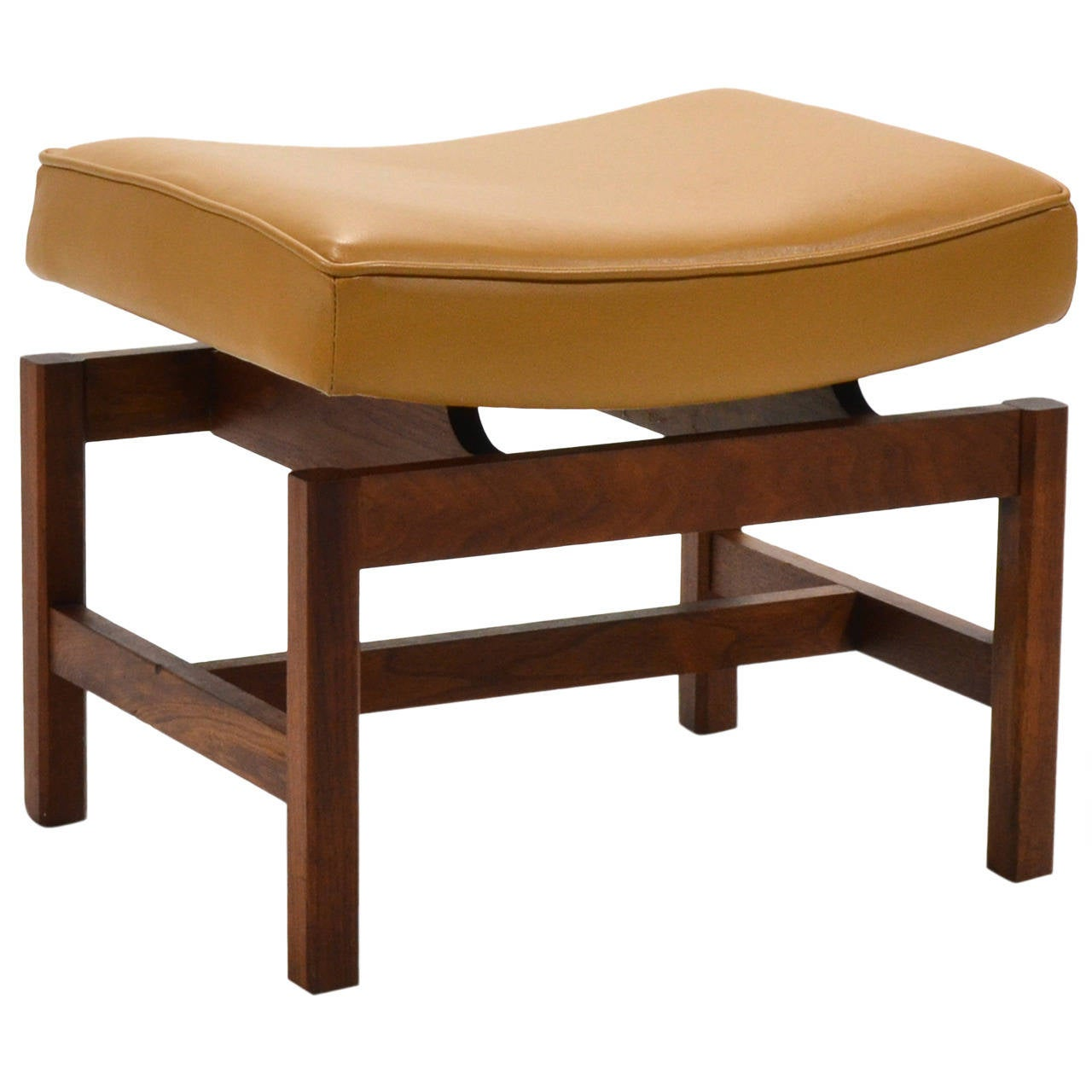 Jens Risom Stool Or Bench At 1stdibs