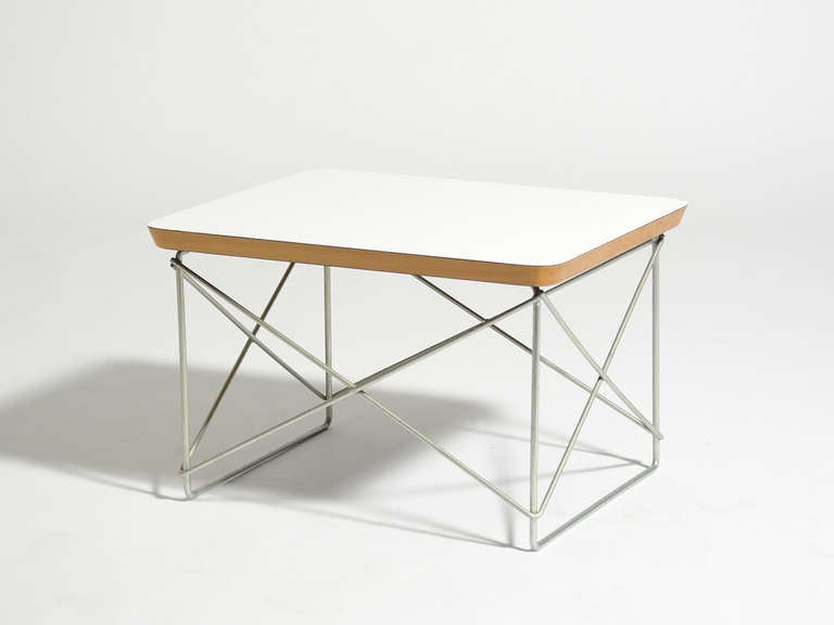 Charles and Ray Eames LTR Table by Herman Miller In Good Condition For Sale In Highland, IN